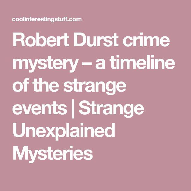 Robert Durst crime mystery – a timeline of the strange events | Strange Unexplained Mysteries