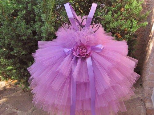 Tutu Dress, DREAMY RADIANT ORCHID, Four Layers, Babies  3-24 Months   ElsaSieron - Clothing on ArtFire