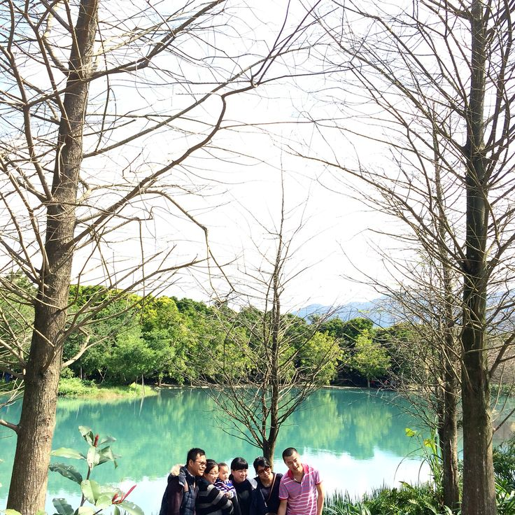 Other family's picture shot. #landscape #from #taiwan #trees #mountains #river #travel