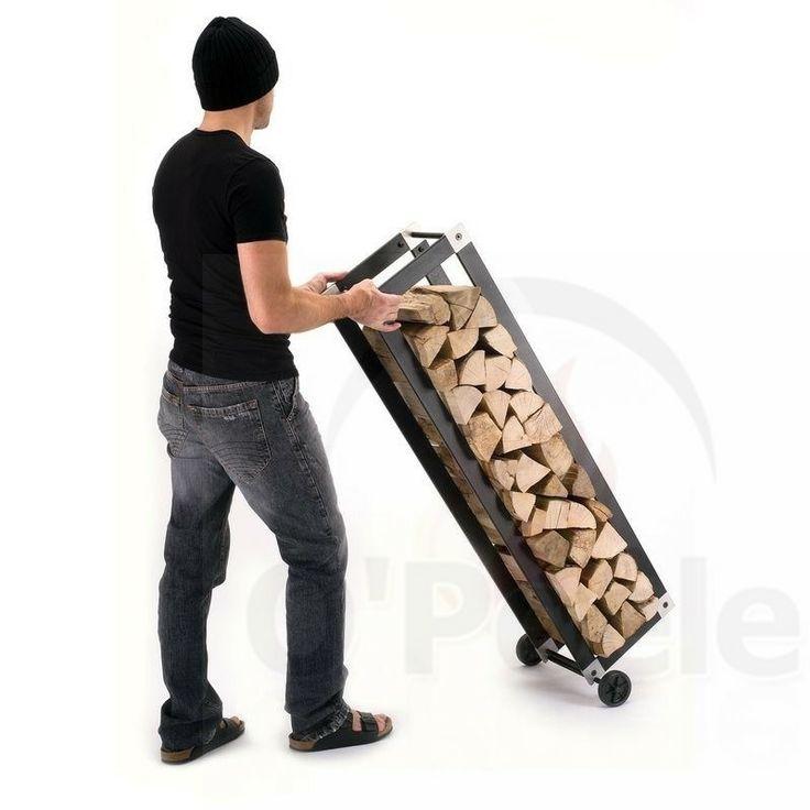 17 best images about landscaping wood storage rangement - Rangement buche de bois interieur ...