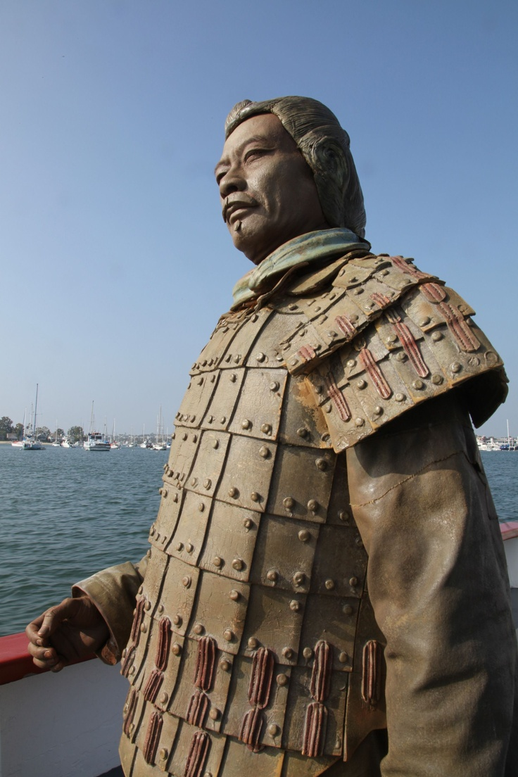 Our favorite Terra Cotta Warrior Jarry is on a ferry!
