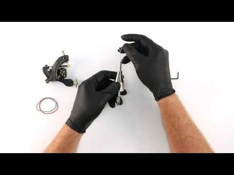 Tattoo Machine Setup - Needle and Tube - YouTube                                                                                                                                                     More