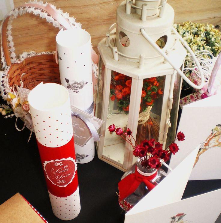 pergamino diseño Ciceronia para boda de Diciembre.