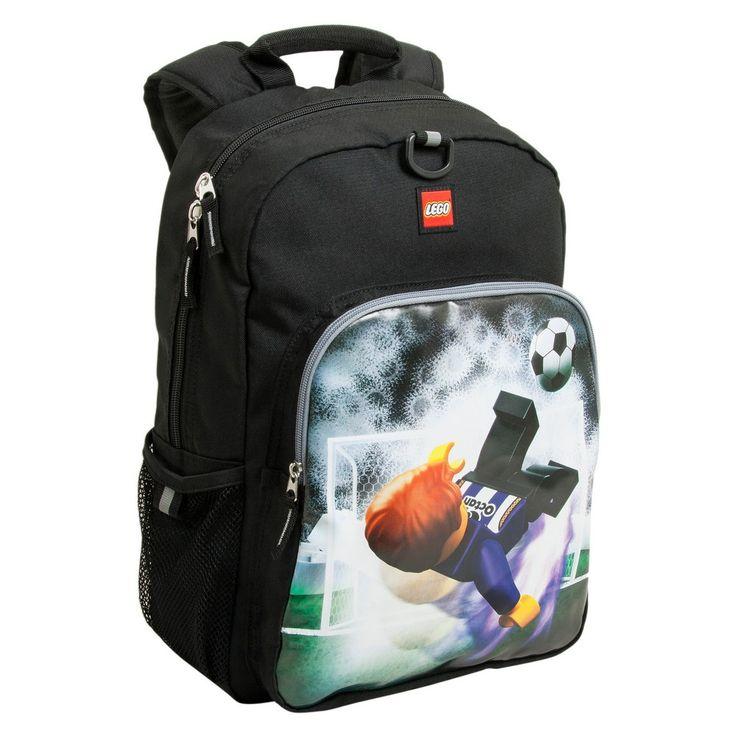 Lego Soccer Kick Eco Heritage Classic Backpack, Black