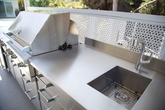 Best 25 stainless steel countertops cost ideas on for Stainless steel countertops cost per sq ft