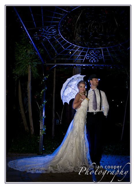 A proficient and well advanced Photographer can do this fro you. Images of your wedding can be different...www.icphotos.co.za