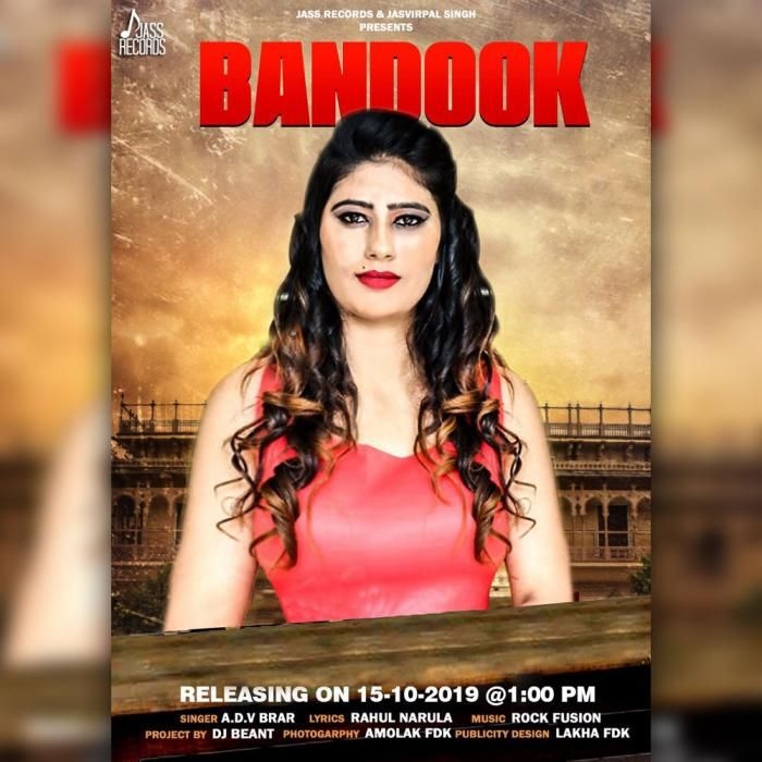 Bandook By A D V Brar Mp3 Punjabi Song Download And Listen Songs