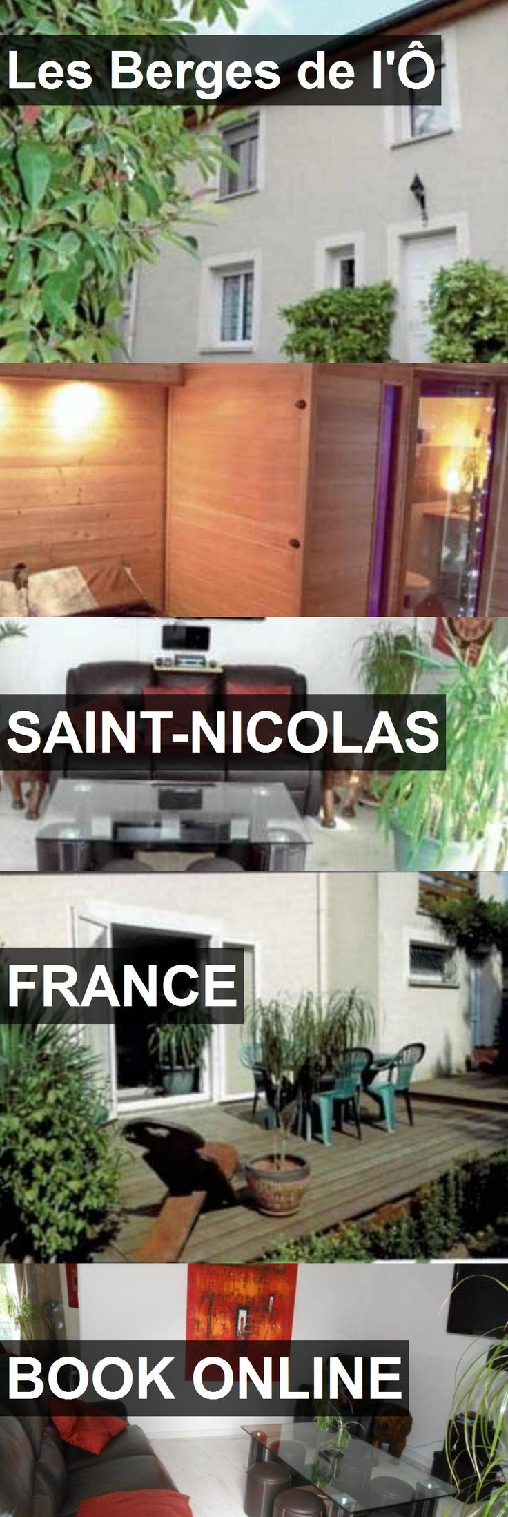Hotel Les Berges de l'Ô in Saint-Nicolas, France. For more information, photos, reviews and best prices please follow the link. #France #Saint-Nicolas #travel #vacation #hotel