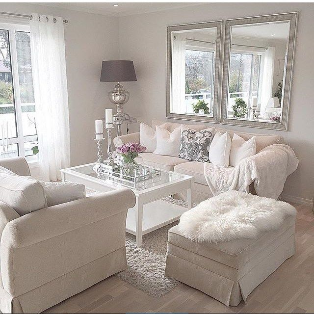 White Rooms, White Living Rooms, Classy Living Room, Living Room Mirrors,  Luxury Living Rooms, White Interiors, Colour Schemes, Coffee Tables, Make A  Room - 25+ Best Ideas About Living Room Mirrors On Pinterest Small