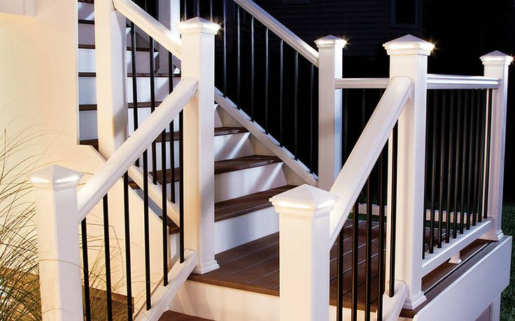 #Trex #DeckLighting is a beautiful finishing touch to any #outdoor living space.