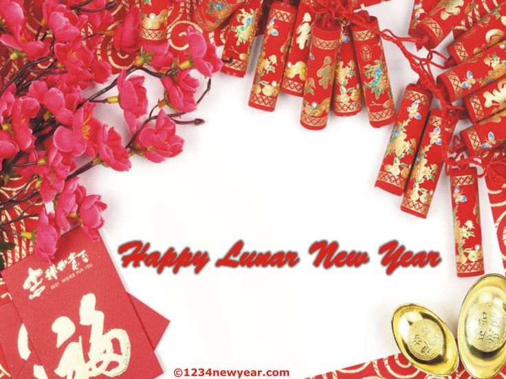 Lunar New Year Greeting Card (With images) Chinese new