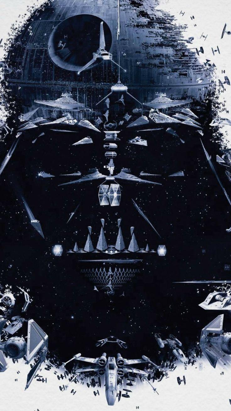 Star wars tumblr iphone wallpaper - Star Wars Darth Vader Spaceships Android Wallpaper Jpg 1080 1920