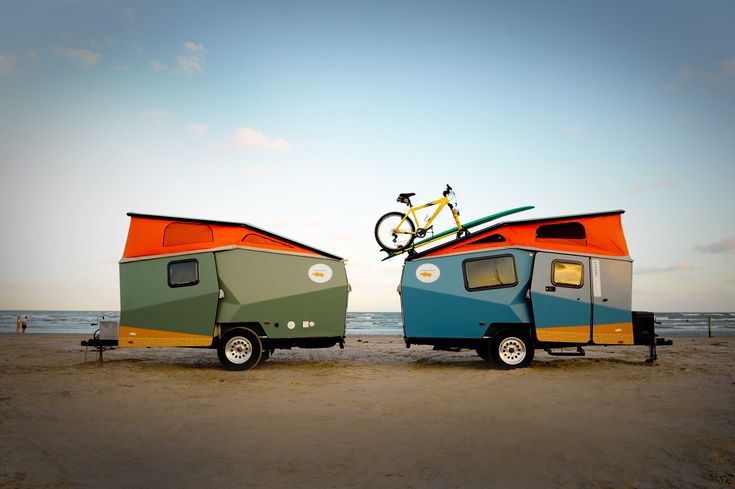 Look more interesting than standard caravans, could be branded and used at festivals.