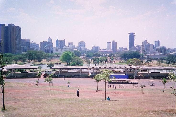 https://flic.kr/p/jk4xy | Nairobi skyline