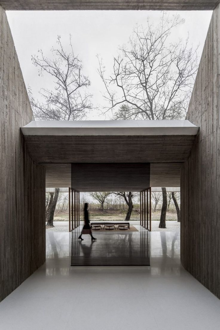 The architects proposed a plan that slots in around several mature trees, resulting in a series of individual yet connected spaces that branch out from the central room.