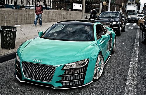 O.m.g. I'm in love.: Audir8, Blue Cars, Sports Cars, Audi R8, Color, Tiffany Blue, Blue Audi, Radiator Grilled, Dreams Cars