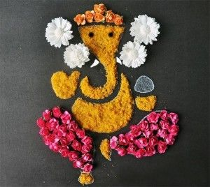 Rangoli Designs of Lord Ganesha …