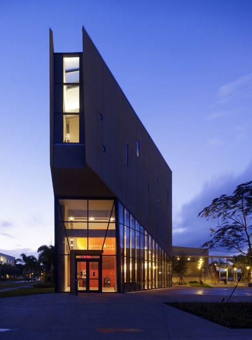 International architects Kohn Pedersen Fox Associates designed Florida International University's Chapman Graduate School of Business