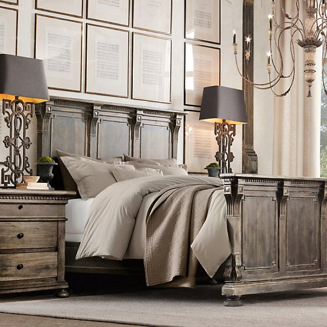 My future bedroom set!! Love this store, restoration hardware!