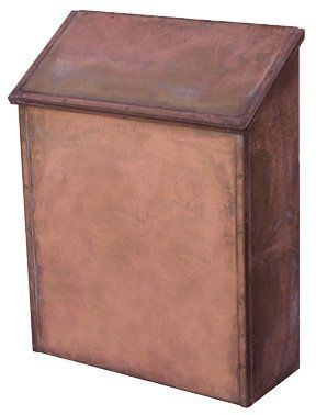 "Streetscapes Solid Brass Wall Mount Mailbox Manhattan Si156 by Streetscape. $137.00. Polished Antique Patina mailbox finish is exclusive to Streetscape Pol. Ant. Patina blends tones of red, blue, brown, and some yellow. Each Streetscape mailbox is hand crafted in the USA. Brass Numbering Option Available. *Personalized models take 14 days to ship.. Mailboxes are constructed completely of brass, using solid brass sheet, bar stock and hinges.. 11 1/4"" W x 15"" H x 4 1/2"" D. Stre..."