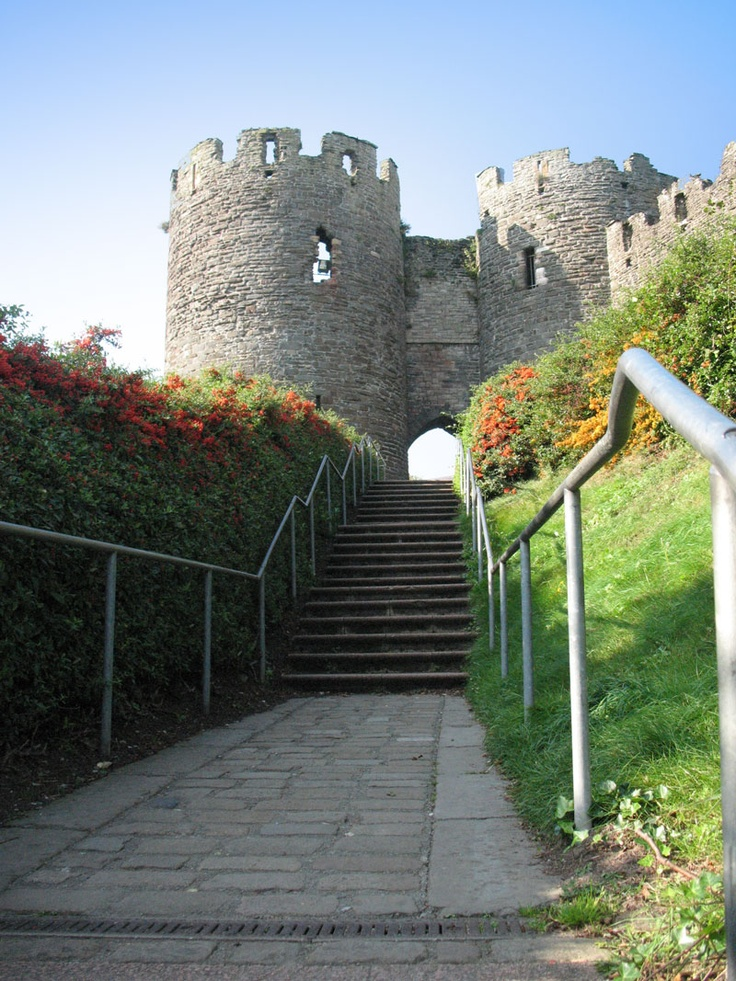 Conway Castle, Northern Wales. An hour's drive from Liverpool, England.