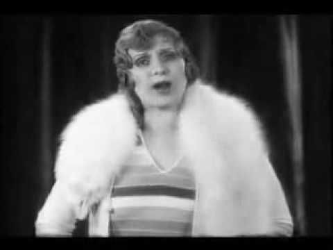 """One of the first televangelists, Aimee Semple McPherson once gave a speech in a speakeasy (similar to this video but not captured on film). Part of The Eloquent Woman blog's """"Famous Speech Friday"""" series."""