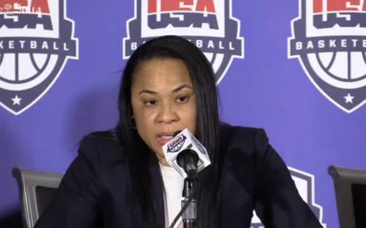 South Carolina head women's basketball coach Dawn Staley was named Friday coach for Team USA, putting the crowing achievement on a career that already is one the most decorated in U.S. Olympic history.