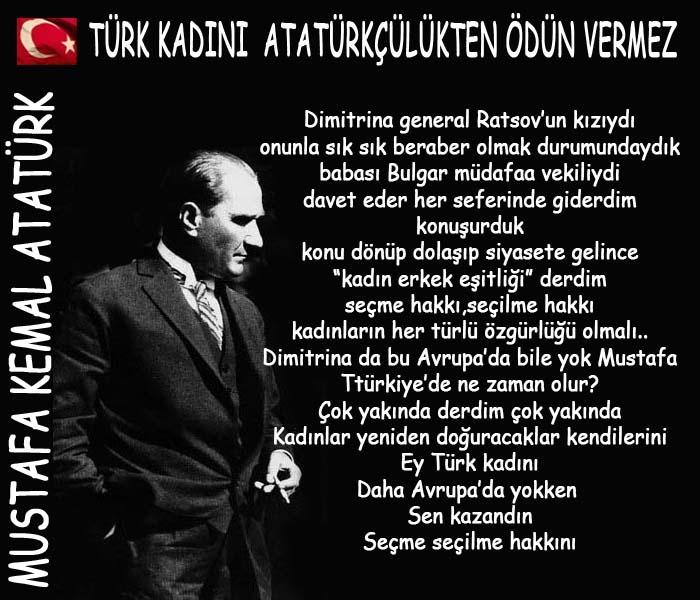 Atatürkçü Çağdaş Türk Kadınları !