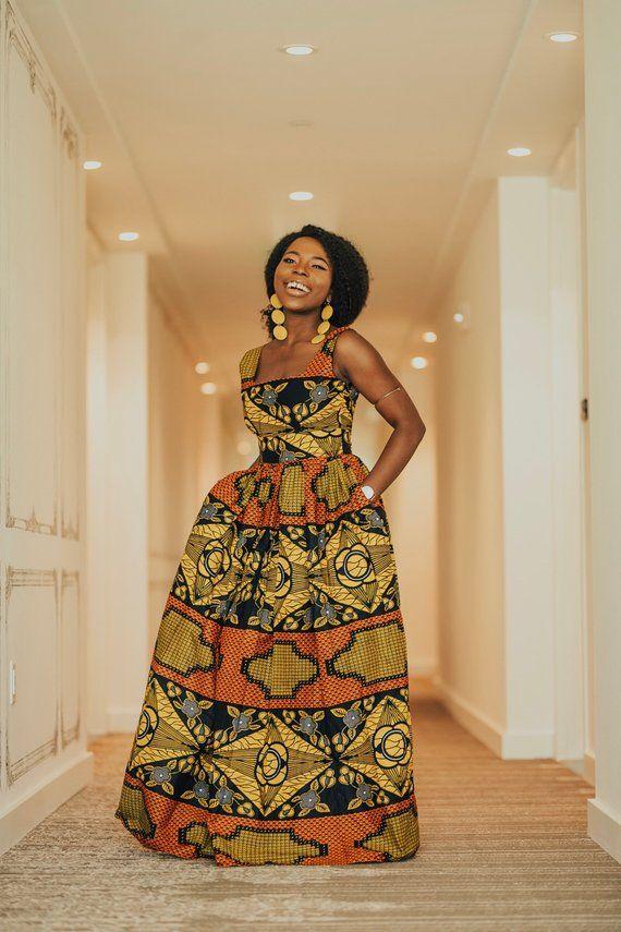 7f3944e9b8e Ankara Dress African Clothing African Dress African Print Dress ...