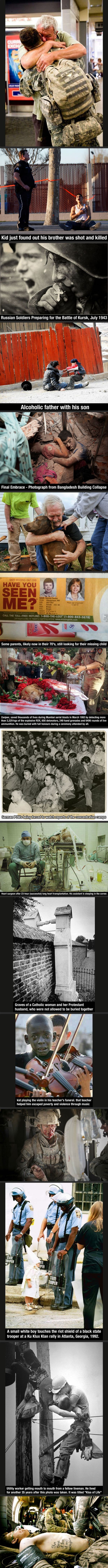 Some of the most powerful images ever captured …