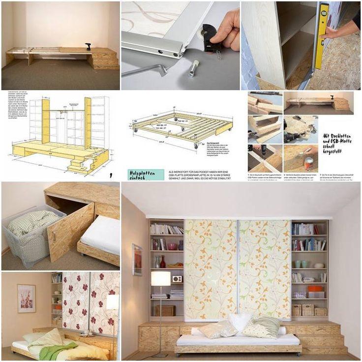 DIY Podium Bed