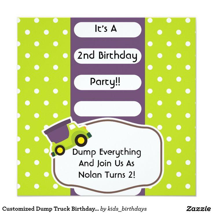482 best Kids Birthday Invitations images on Pinterest | Kid ...