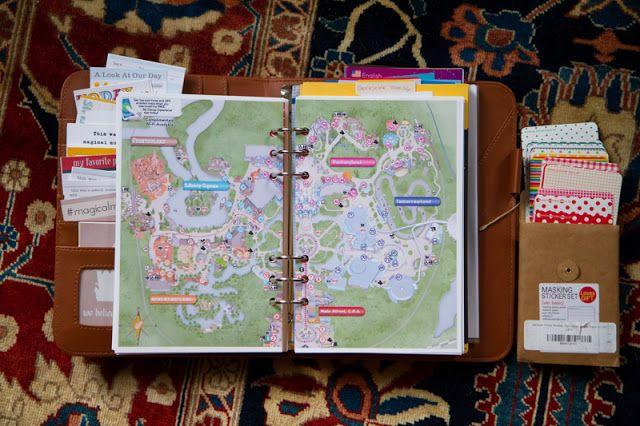 Disney vacation planner/memory book
