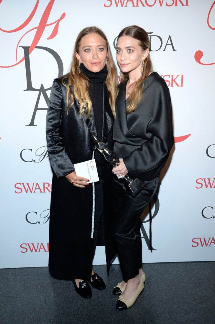 Pin for Later: See All of This Year's CFDA Award Winners Womenswear Designer of the Year Award: Ashley Olsen and Mary-Kate Olsen For The Row Even their red carpet style is award-worthy.