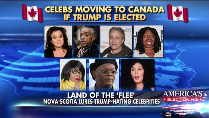 These celebrities had some, uh, extreme responses to the possibility of Donald Trump winning the White House. What a great endorsement for Trump! #TrumpLandslide2016