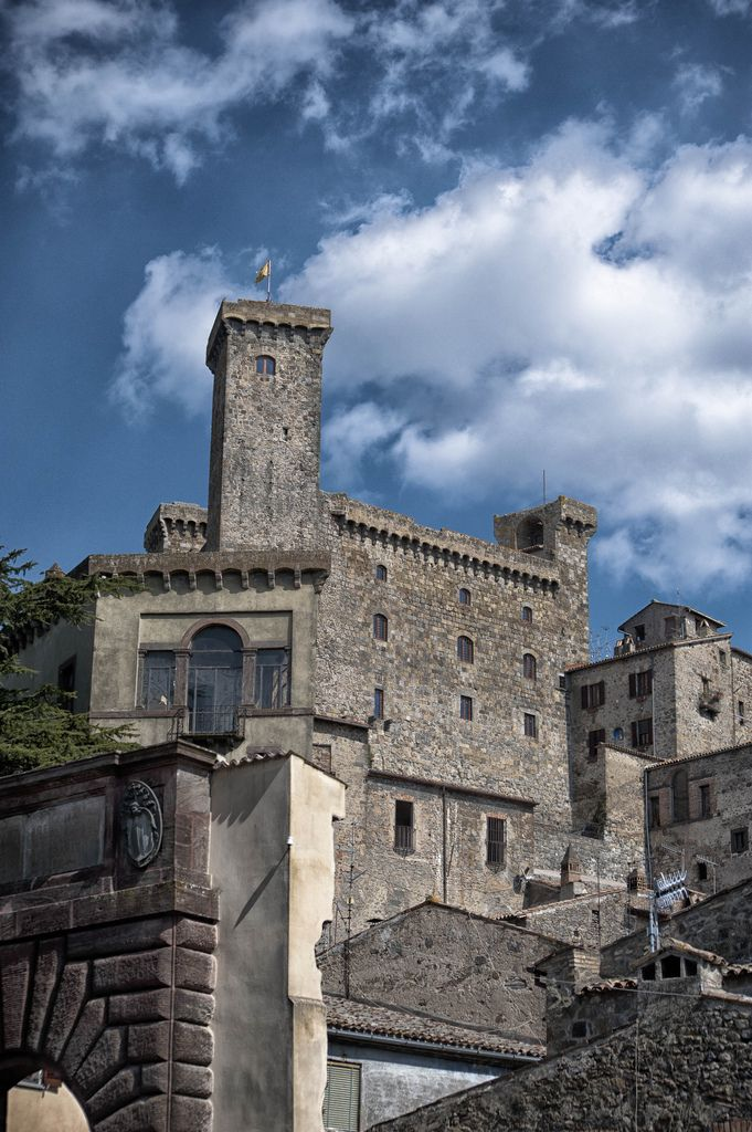 The Castle of Bolsena - #Bolsena (Viterbo), #Tuscia #Lazio - Italy