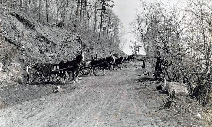 La côte Gilmour, en 1931
