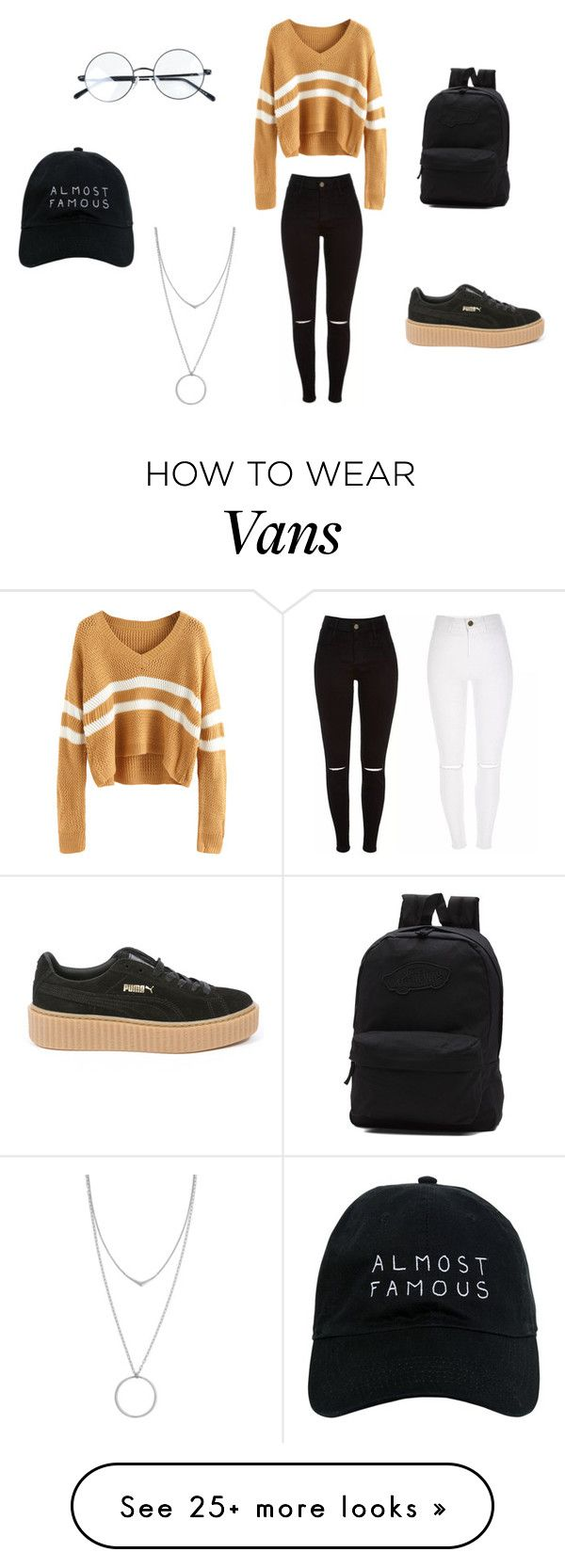 """It's Been A While..."" by randilauderdale on Polyvore featuring Puma, Vans, Nasaseasons and Botkier"