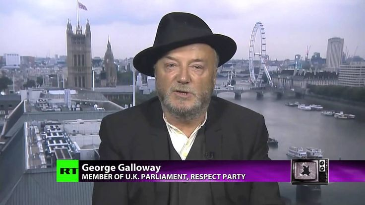 George Galloway's solutions to ISIS and Gaza massacre - Russia Today - 8...