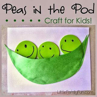 Little Family Fun: Fruit & Veggie Crafts & Activities