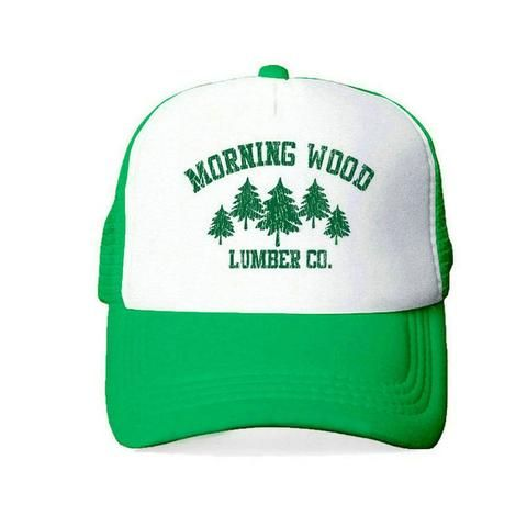 f1a0947efc0 Drop Shipping Morning Wood Lumber Company Trucker Hat Men Women Lumberjack  Outdoors Cap Adult Breathable Snapback