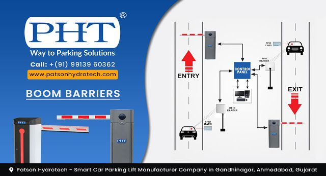 About Automated Boom Barrier Gate Manufacturer By Pht Parking Solutions Car Parking Barrier