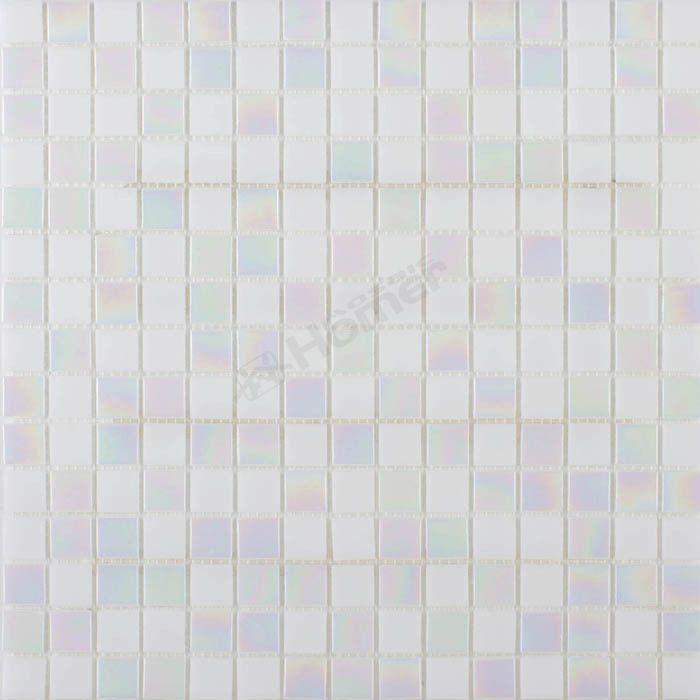 Экспресс-доставка бесплатно! белая стеклянная мозаичная плитка 20 х 20 мм для кухни щитка, гомер Мозаика, 10 листов/серия