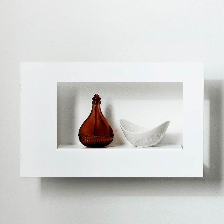Frame Wide Tavelram 21x34cm, Vit, Scandinavian Design Factory