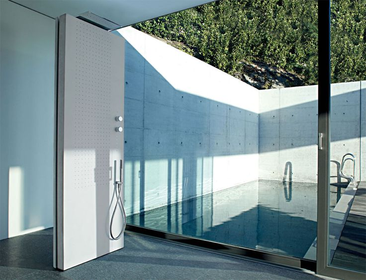 Shower by the pool, Fantini