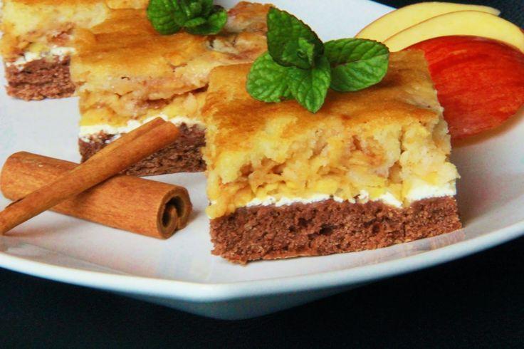 V kuchyni vždy otevřeno ...: Skládaný jablkový koláč