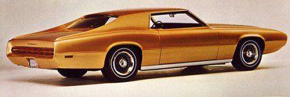 Ford Thunderbird Saturn concept car.