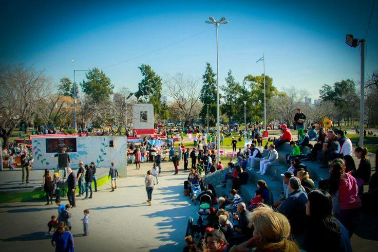Festejando el día del niño + Feria Vecinal San Martín