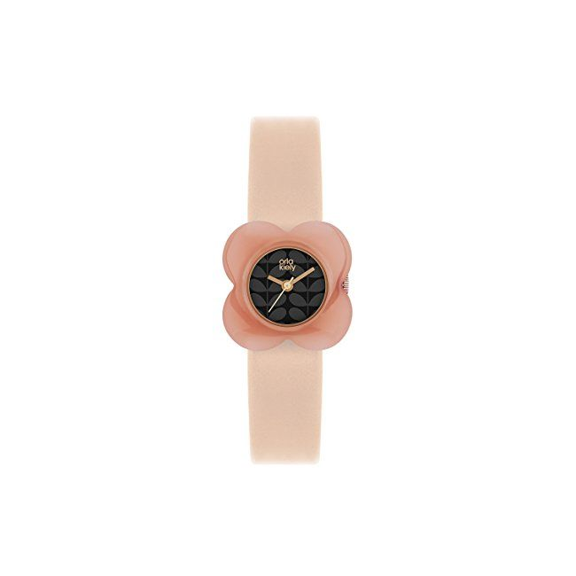 #womens #watches Orla Kiely Women's Analogue Quartz Watch with Leather Strap – OK2060