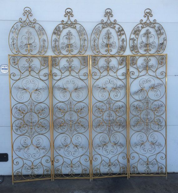 Ornate Vintage Gold Gilt Hollywood Regency Style By DelcoDecor | Screen |  Pinterest | Hollywood Regency, Regency And Room Divider Screen